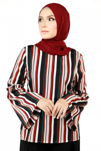 CAYRA  DOUBLE STRIPE TOP