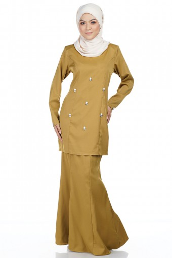 RAHIMA KURUNG modern with Tear Drop Flower