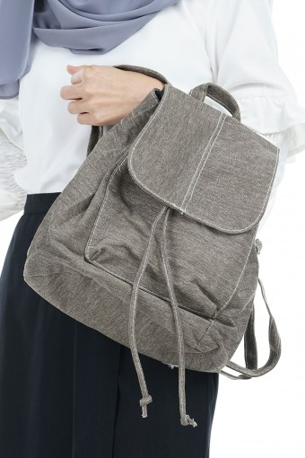 Jeans light bagpack (dark grey)
