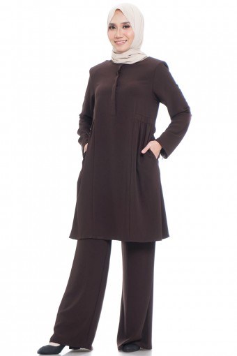 HASNA SIDE GATHERS TUNIC