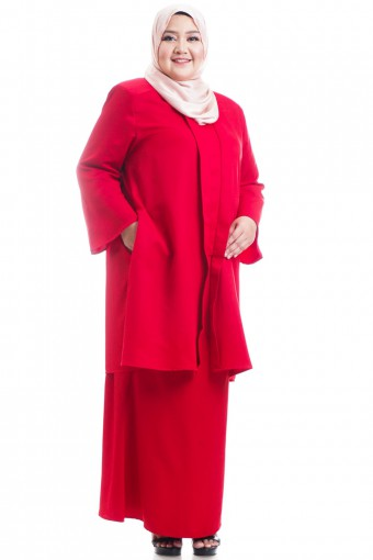 AZAREIN V-SHAPED KEBARUNG PLUS SIZE