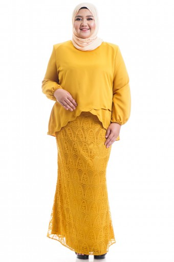 NARESHA KURUNG WITH LAYERED SCALLOP 42-48