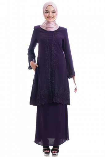 ADAMA KEBAYA WITH BORDER LACE