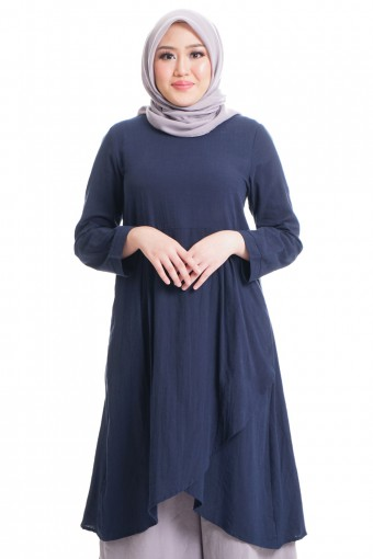 KASIH TOP WITH OVERLAP FLARE