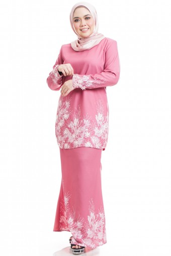 ANDARA KURUNG WITH FLOWER