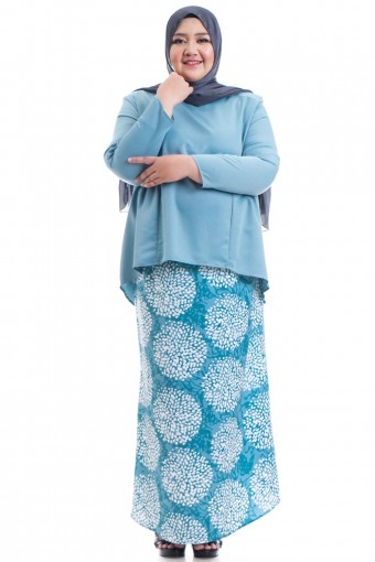 SHAKELA KURUNG WITH GATHERS PLUS SIZE
