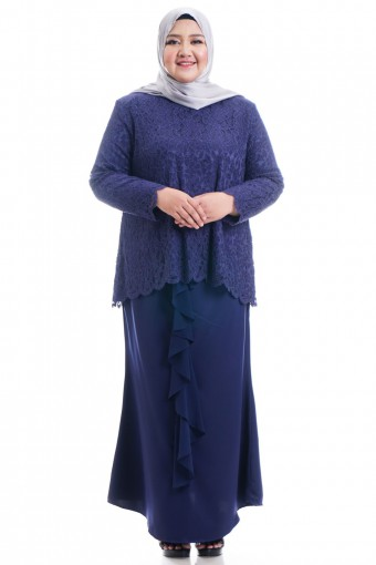 HARERA KURUNG WITH DRAPE SKIRT 42-48