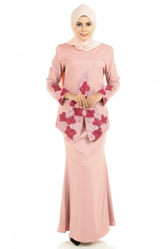 DAFEENA KEBAYA WITH PATCHED