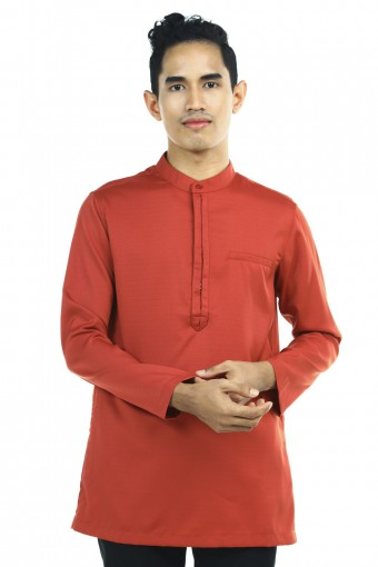 FAIQ KURTA WITH FRONT HIDDEN BUTTON