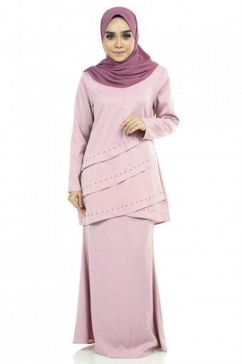 LIANY KURUNG WITH LAYERS FLARE