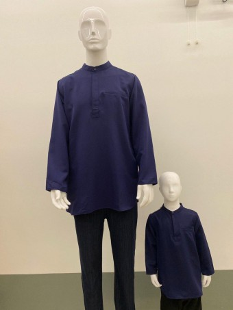 KIDS FIRAS KURTA WITH HIDDEN BUTTON