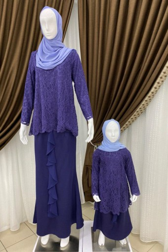 KIDS HARERA KURUNG WITH DRAPE SKIRT